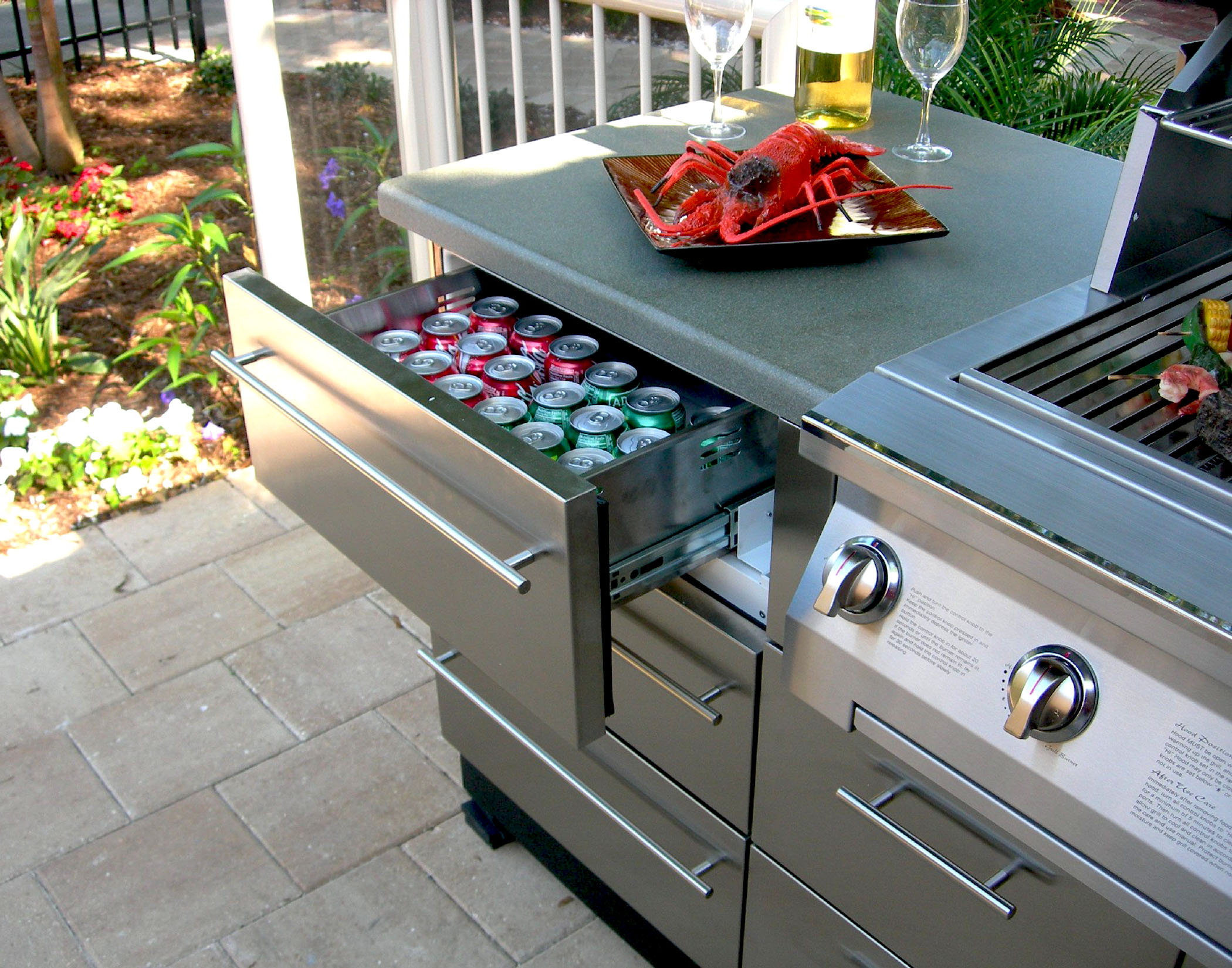 & Chadwick Outdoor KitchensStainless - Chadwick Outdoor Kitchens