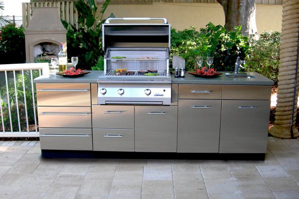Our U201c304 Gradeu201d Stainless Outdoor Cabinetry Is Engineered For Highest  Quality U0026 Durability.