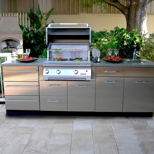 Outdoor Kitchen Cabinets Polymer: Chadwick Outdoor Kitchens