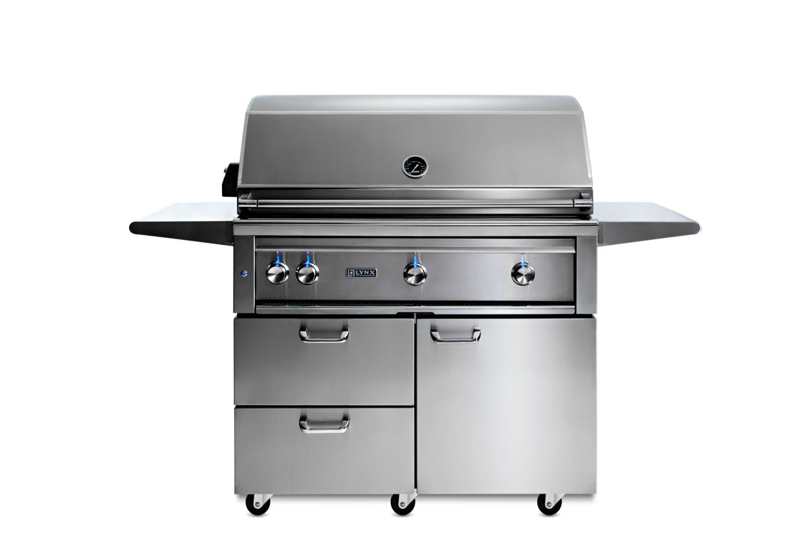 Lynx 42 Freestanding Grill With Rotisserie And Trident