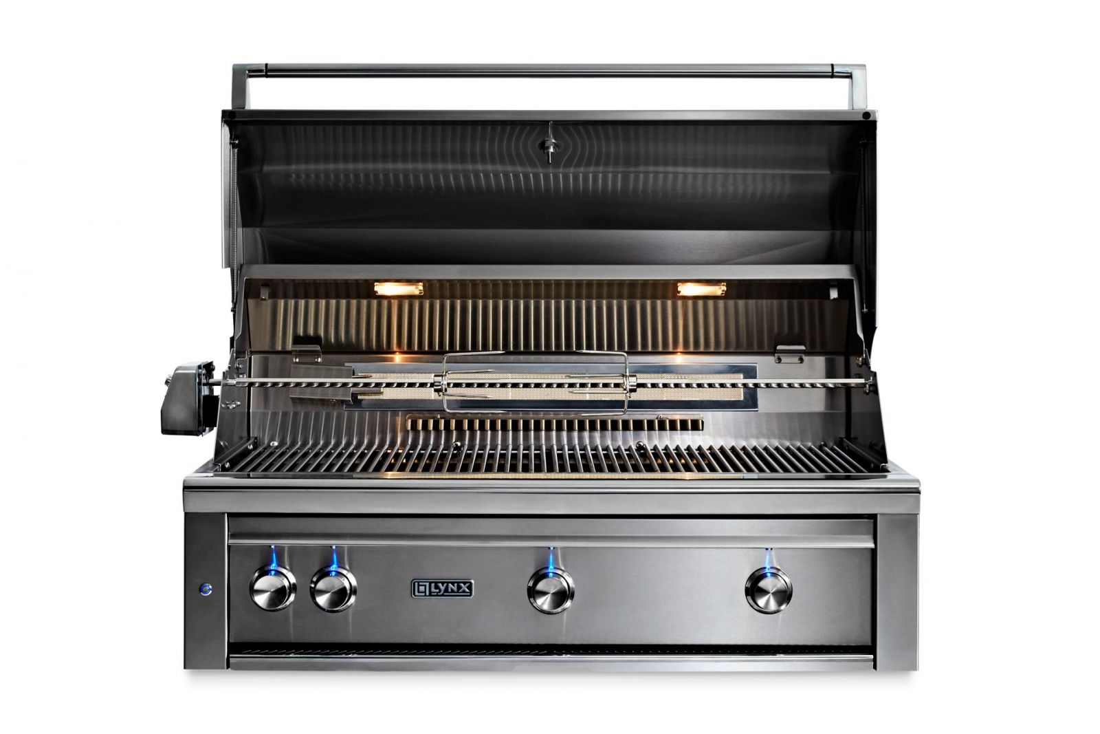 Lynx 42 Built In Grill With Rotisserie And 3 Trident