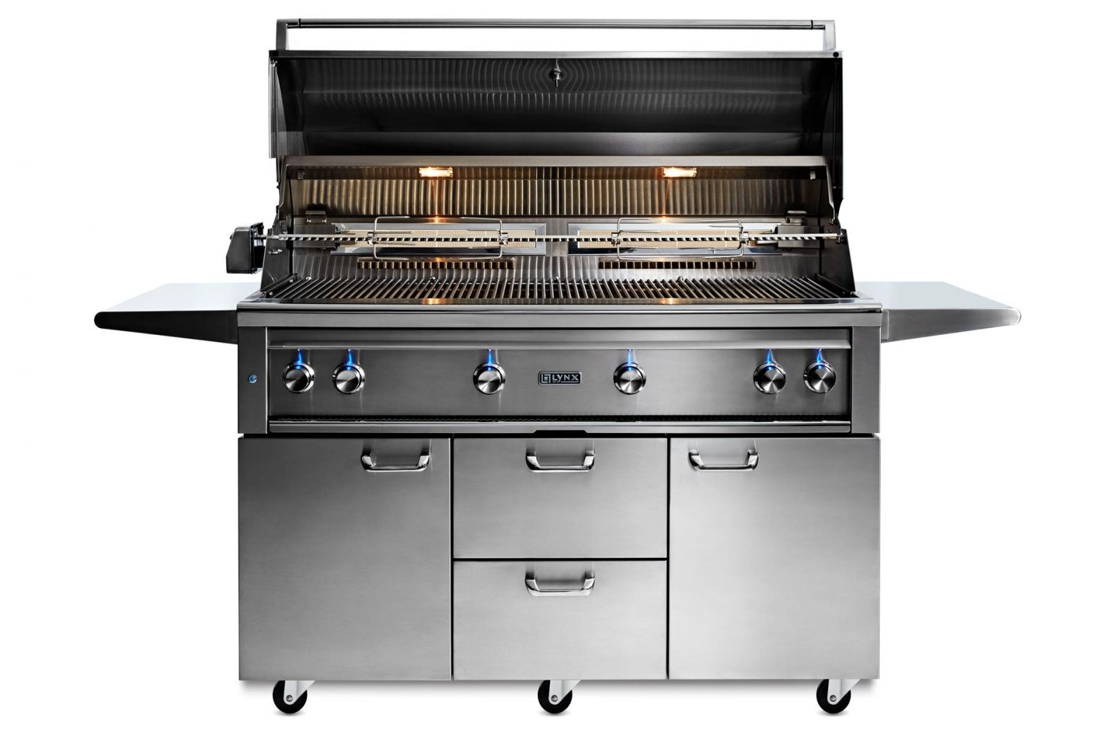 Lynx 54 Freestanding Grill With Rotisserie And Trident Infrared