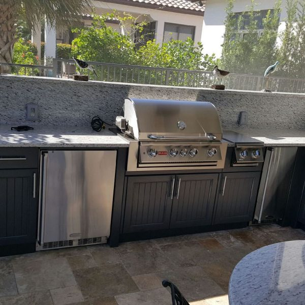 Outdoor Kitchens Lithia Fl: NAUTILUS POLYMER CABINETRY