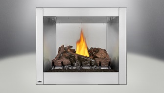 Napoleon Riverside 36 Clean Face Outdoor Gas Fireplace Chadwick