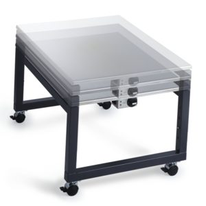Cook N Dine Teppanyaki Grill Coffee Table On Wheels Chadwick