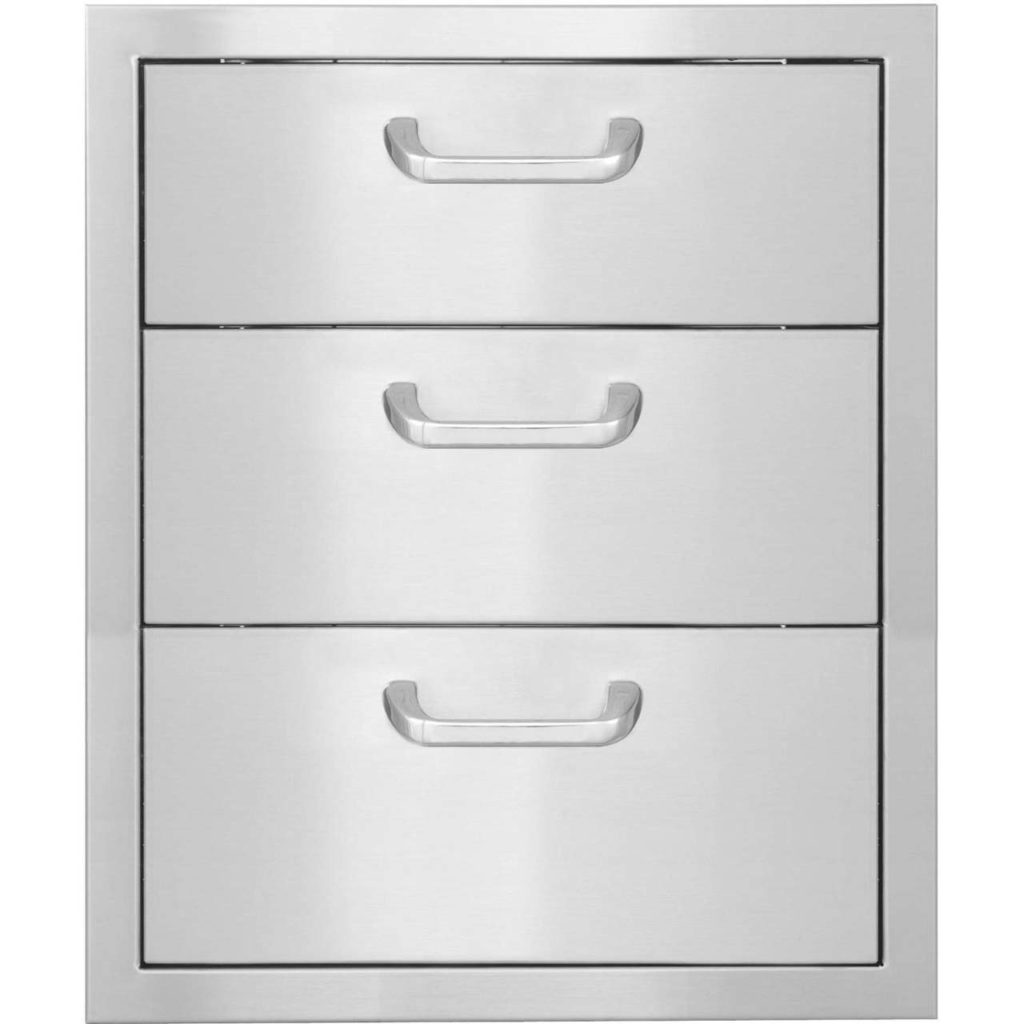 Pcm 260 Series Triple Drawers Chadwick Outdoor Kitchens